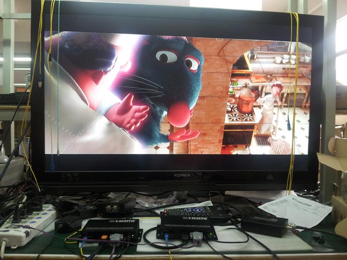 HDMI IR RS232 over Fibre Extender