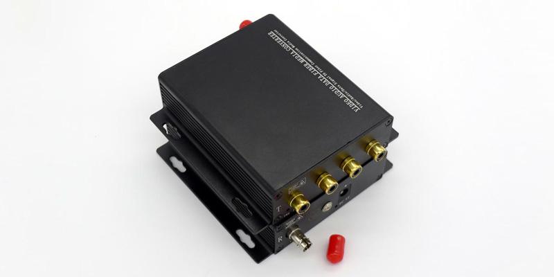 4 Channel RCA Audio over Fiber Extender