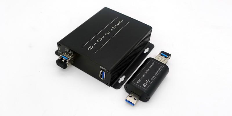 USB 3.0 over Fiber Optic Extender