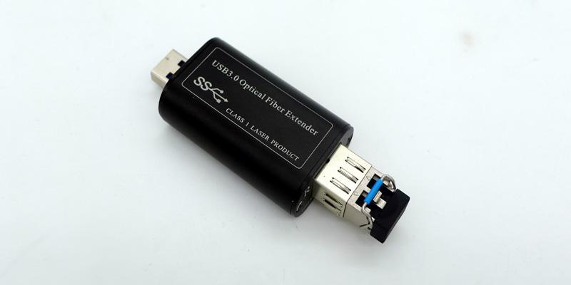 USB over Fiber Optic Extender