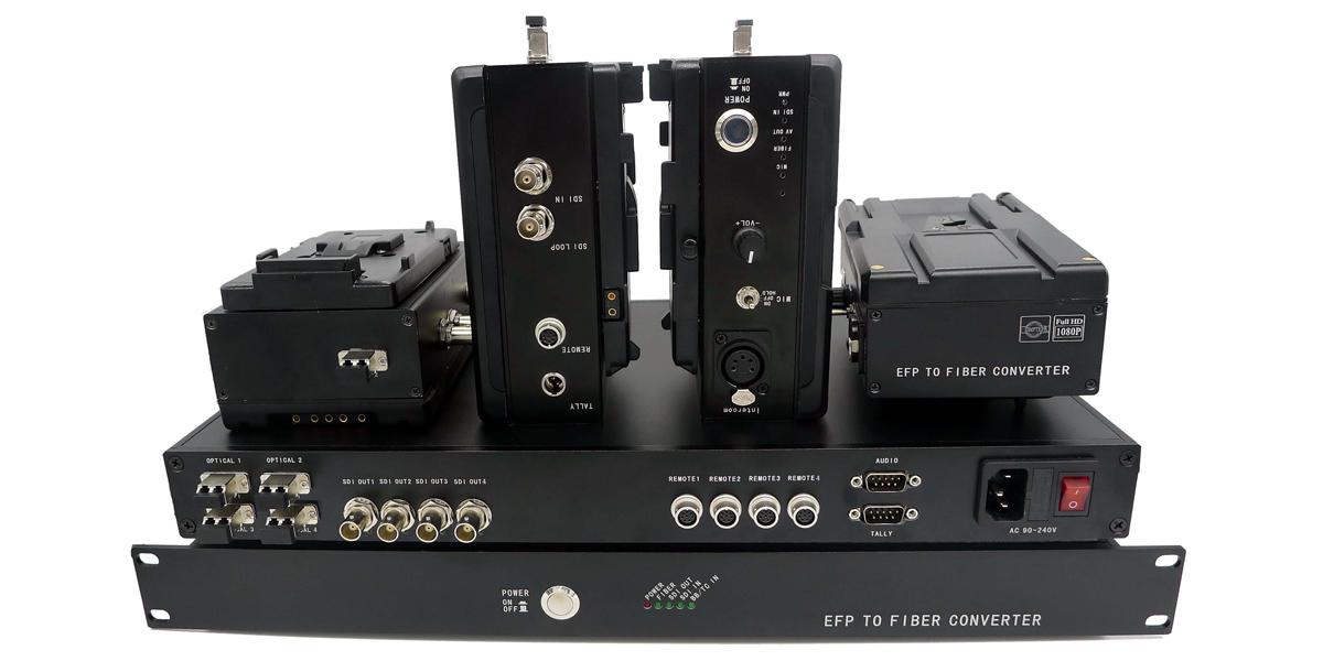 EFP over Fiber System